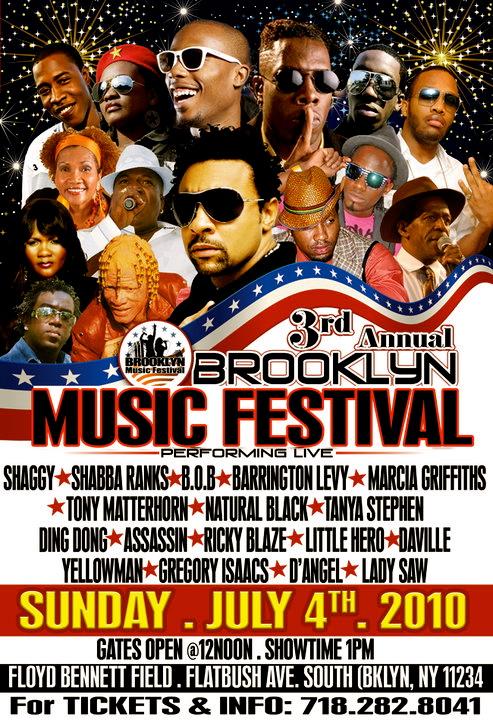 Poster brooklyn music fest