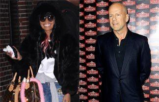 Nicki Minaj Had A Crush On bruce Willis Back In The Days… Die Hard