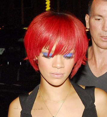 Rihanna Rocking New Hairstyle For Chicago Concert