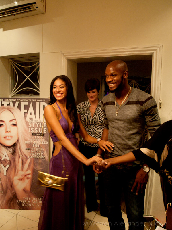 Asafa Powell & Yendi Phillips