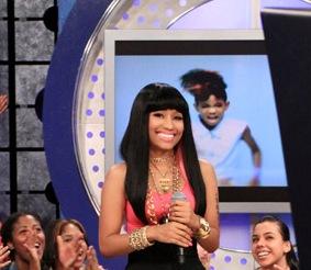 Nicki Minaj On BET 106 & Park Last Week [Photo & Video]