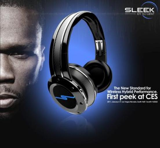 50 Cent Sleek headphone