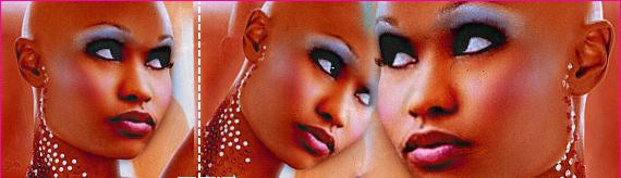 Nicki Minaj Bald Head
