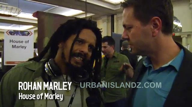 Rohan Marley CES 2011