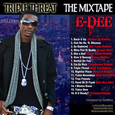 E-dee TRIPLE_THREAT_ARTWORK