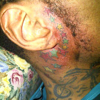 Vybz Kartel New Tattoo 2011 2