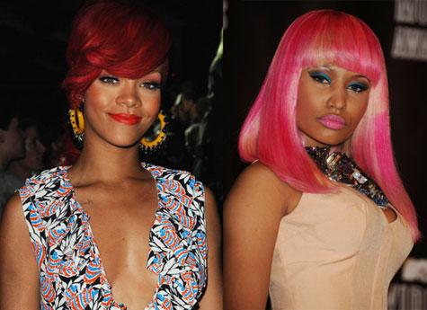 Nicki Minaj Rihanna 2011