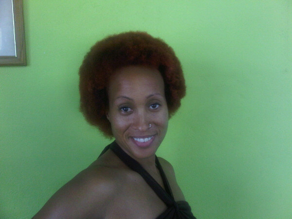 Alison Hinds Afro New Look