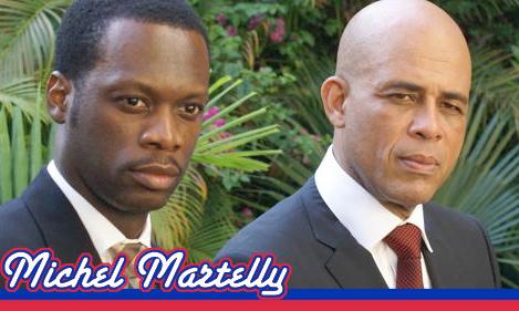 Michel Martelly And Pras
