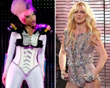 Nicki Minaj and Britney Spears