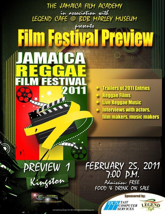Reggae Film Festival Kicks Off On May 23-27