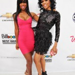 Kelly Rowland and Michelle from Destiny's Child