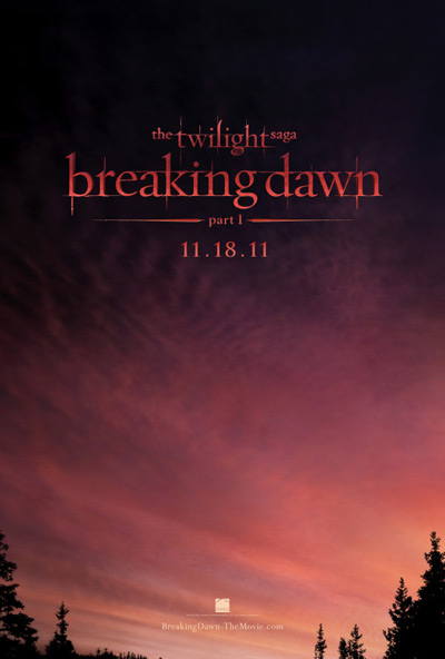 "New Twilight Saga ""Breaking Dawn"" Movie Poster Revealed [Photo]"