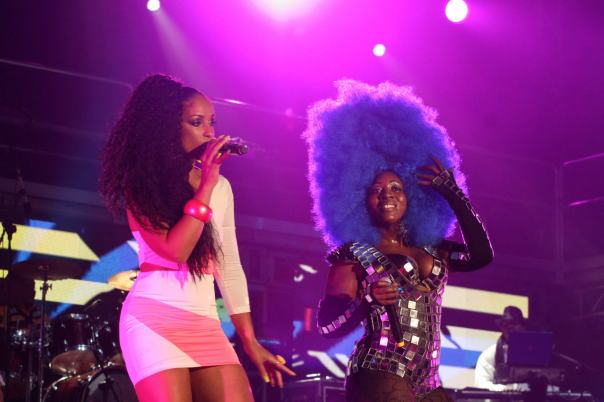 Mya and Spice sumfest