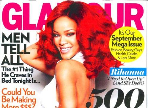 Rihanna Glamour Magazine