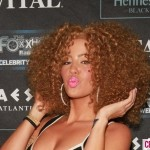 amber rose curly wig