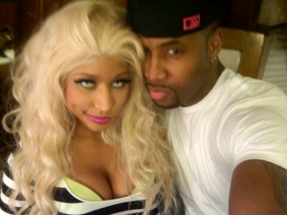 nicki minaj and scaff beezy aka sarafee
