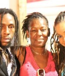 Jah Cure And Mom and wife