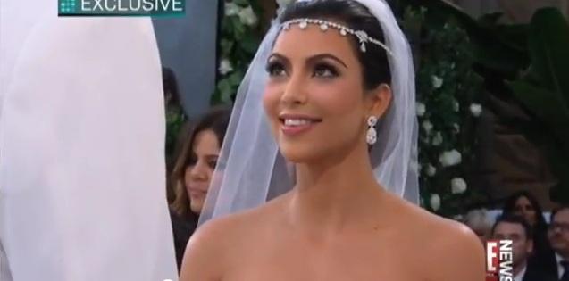 Kim-Kardashian-Bride