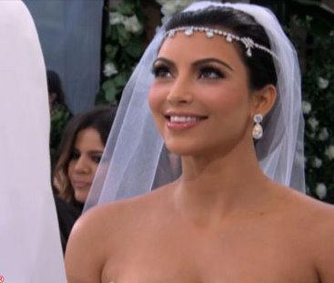Kim Kardashian wedding 2
