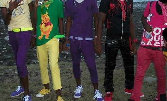 boys dressing like girls in jamaica