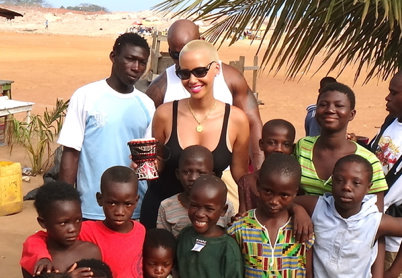 Amber Rose Respond To Criticism For Ghana Visit