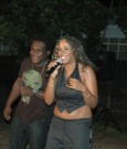 Drezion and marie-claire perform 'summertime' at her EP l aunch in Kingston Jamaica