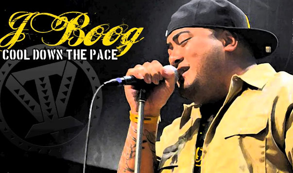 J Boog cool down the pace
