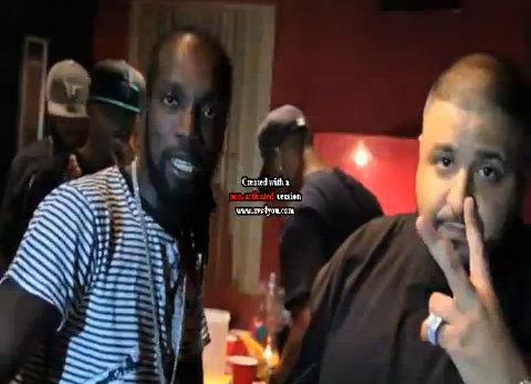 "Video: Mavado & DJ Khaled In Studio Recording ""Emergency"""