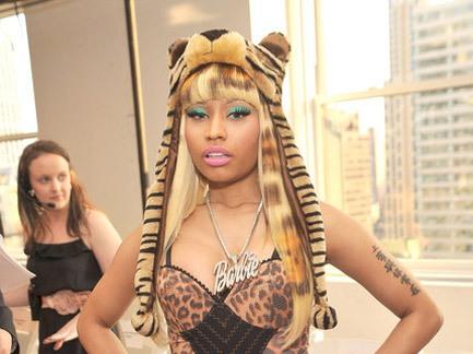 Nicki Minaj Continues Her NY Fashion Week Take Over, Roars Into Oscar  De La Renta