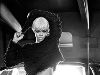 Hot Or Not: Rihanna Goes Blond for Armani [Photo]