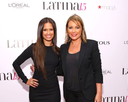 PHOTO: Estelle, Rocsi, Angie Martinez,, Maxwell, Pitbull Celebrate With Latina Mag