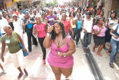 Are Bajans Prejudice Against Fat People Or Only If They're Jamaicans [Photo]
