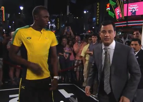 Usain Bolt Jimmy Kimmel