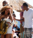 beyonce and jay-z beach