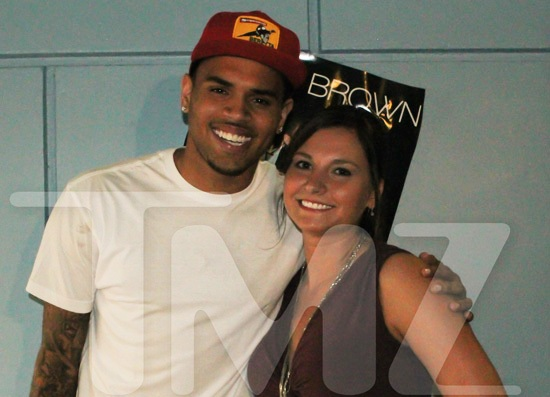 Chris Brown Falls On Stage, Reward Fan For Returning Rolex [Video]