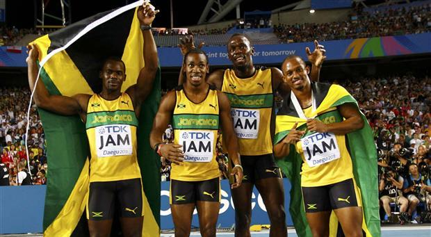 Video: Jamaica Men's 4x100m Relay Team Smash World Record In 37.04 To Win Gold