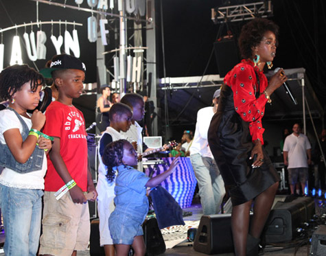 lauryn hill and kids