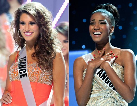 Drama: Miss France Hating On Miss Angola Leila Lopes