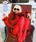 nicki minaj glamour mag 2012