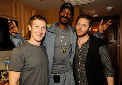 Snoop Dogg Hangs With Facebook Founder Mark Zuckerberg [Photo]