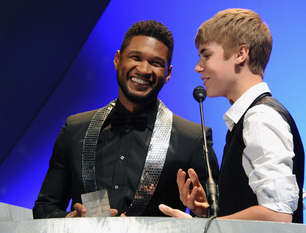 Justin Bieber And Toni Broxton Honored At Georgia Music Hall Of Fame [Photo]