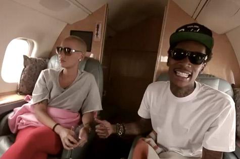 Wiz Khalifa Celebrates Birthday With Amber Rose In Sin City [Video]