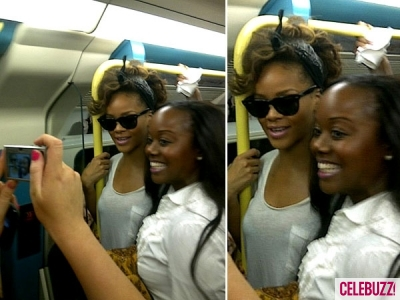 Rihanna Rides Subway With Fans To Her Own Show [Photo]