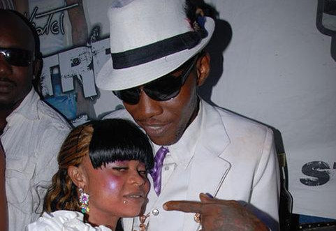 Vybz Kartel and wife shorty