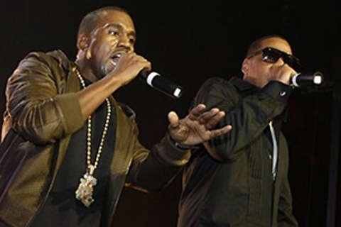 jay-z and kanye west photo