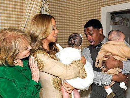 Mariah Carey, Nick Cannon Releases Photo Of Twins Moroccan And Monroe [Photo]