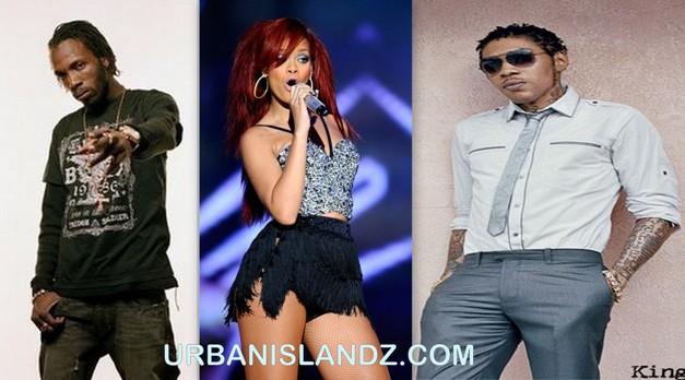 Mavado, Rihanna, Vybz Kartel Nominated For Soul Train Award