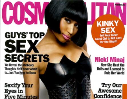 Nicki Minaj Covers Cosmo Mag, Talks Grammys & Oscars