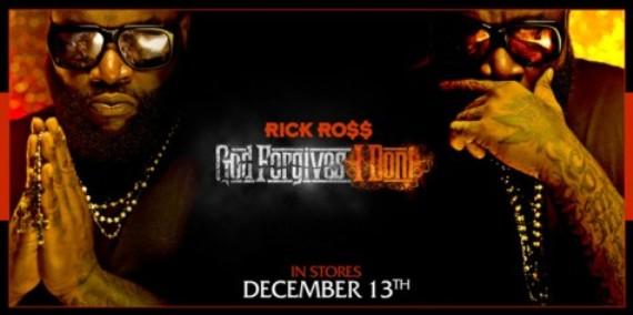 Rick Ross Reveals God Forgives, I Don't Album Cover